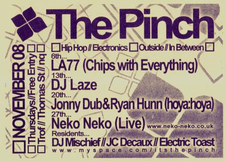 Neko Neko @ The Pinch Manchester