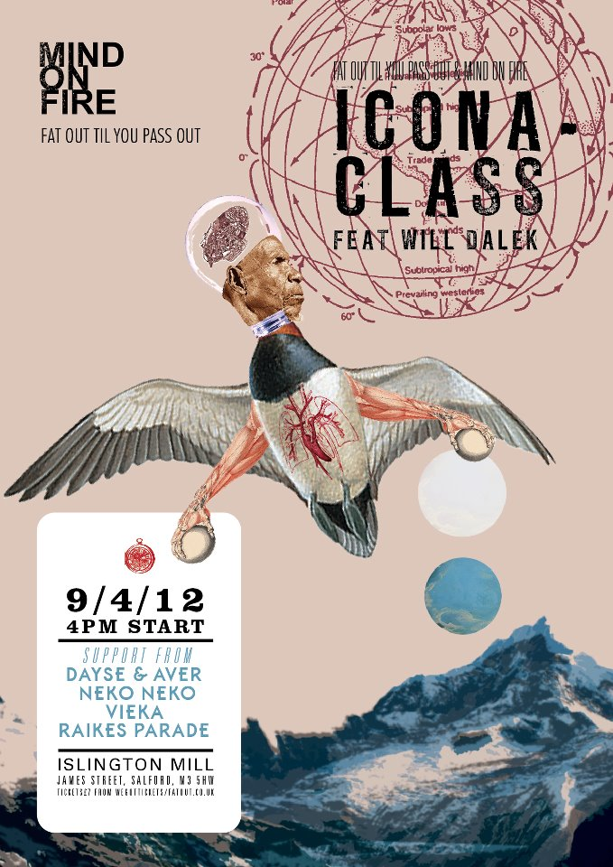 Icona Class, Dayse & Aver, Neko Neko, MOF @ islington mill